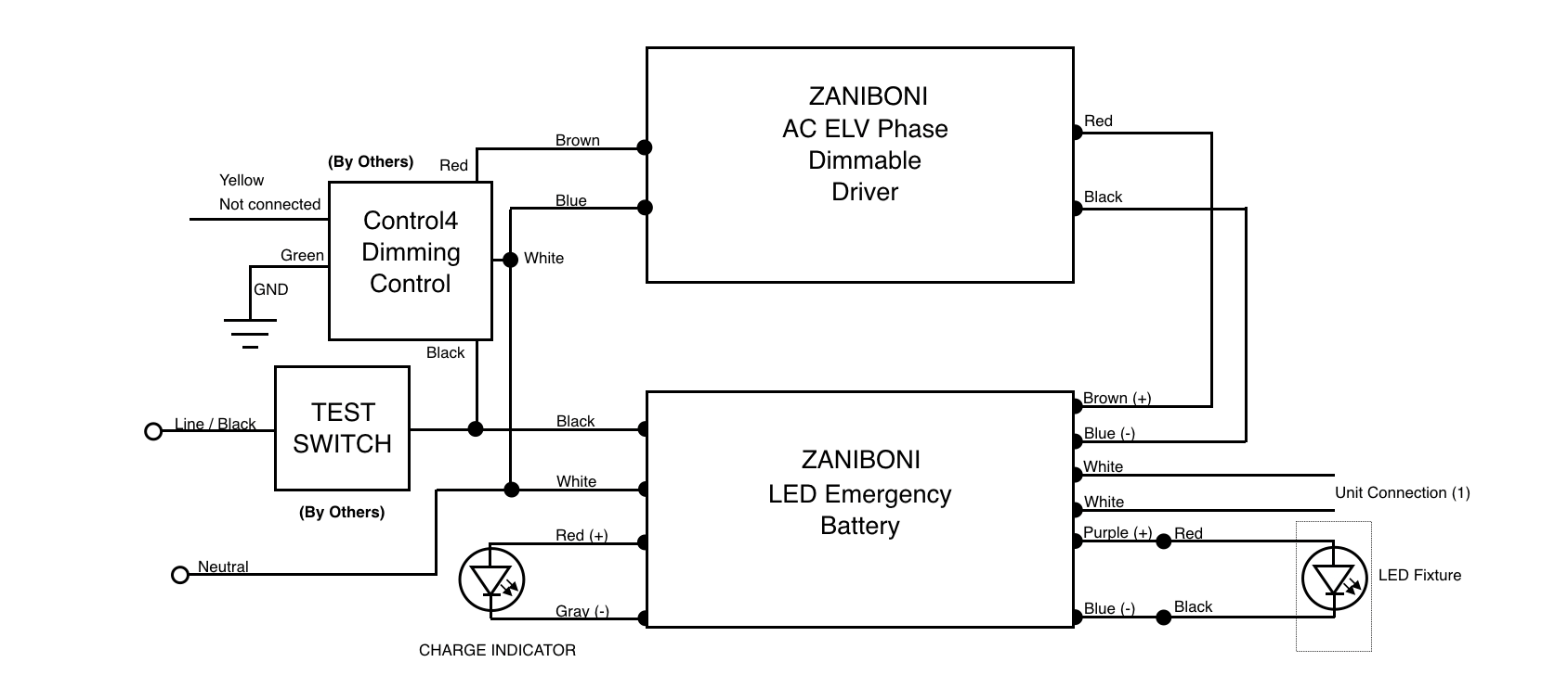Control4 Light Switch Wiring Diagram