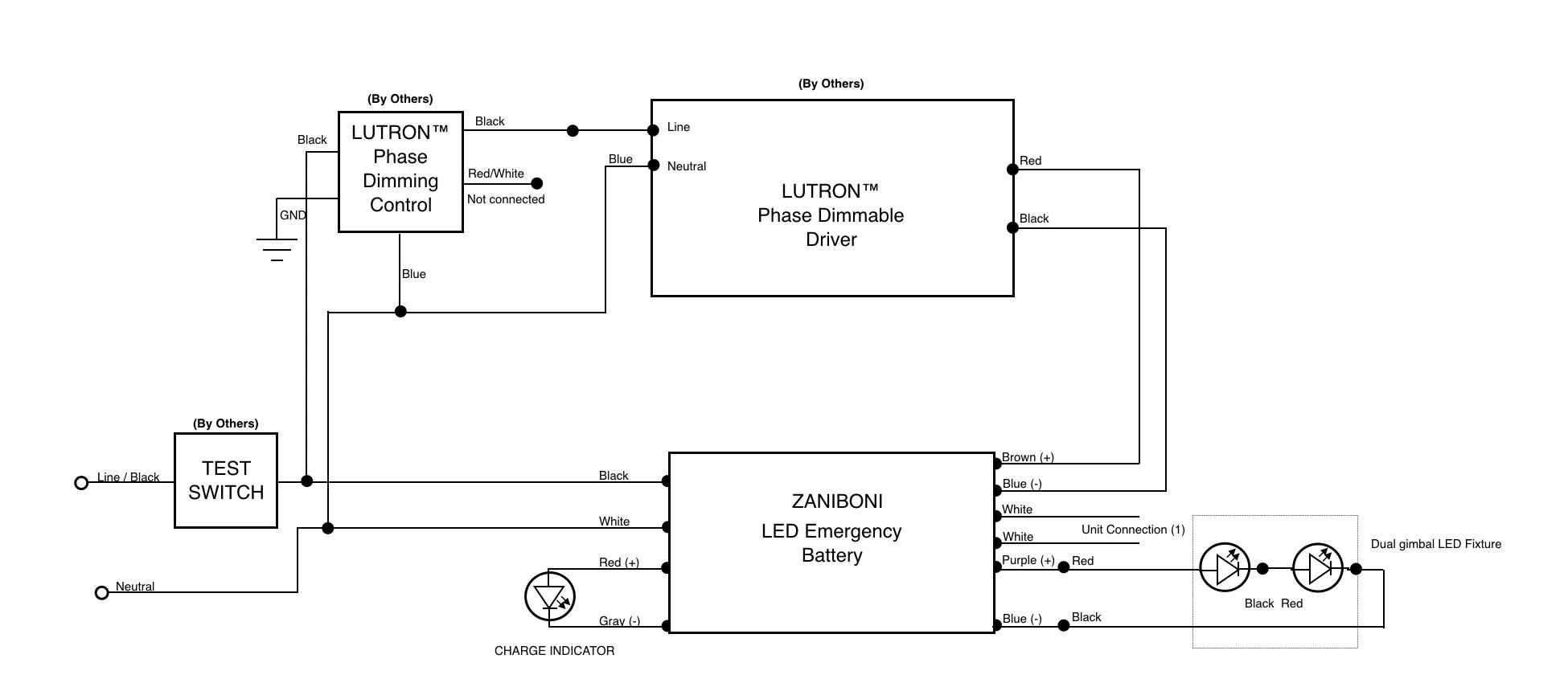 Wiring Diagrams Part 40   Zaniboni Lighting